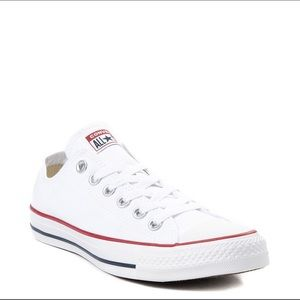 White low too converse size 6